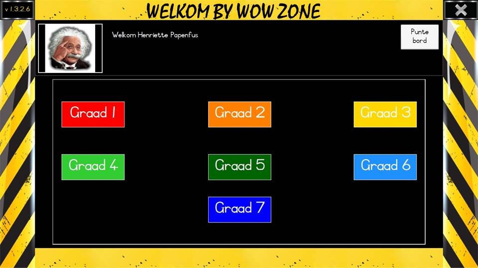 WOW Zone 1 - 7 (Afrikaans) - (Download) - Math Zone